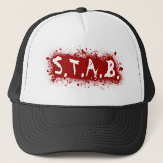 STAB Splatter Trucker Hat