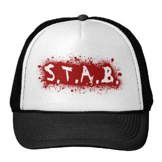 STAB Splatter Trucker Hat