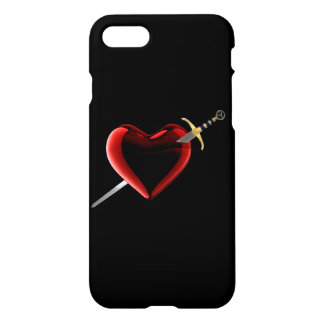 Stabbed In The Heart iPhone 7 Case
