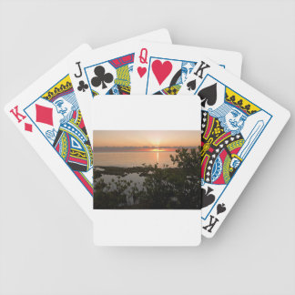 Stability at Key Biscayne Bicycle Playing Cards