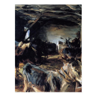 Stable at Cuenca by John Singer Sargent Postcard