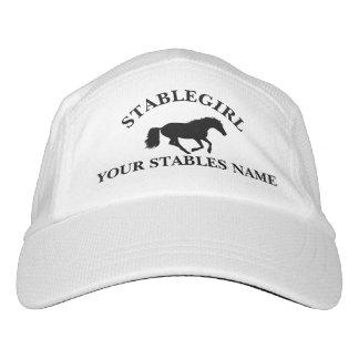 Stablegirl pony equestrian horse design hat
