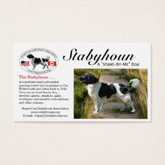 "Stabyhoun ""business"" cards"