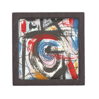 Staccato-Hand Painted Abstract Art Brushstrokes Premium Gift Boxes