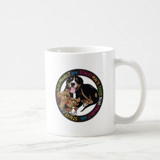 Stacey Mae Teddy Bear Coffee Mug