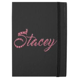 """Stacey Script in Faux-""""Ruby"""" Jewelsz"""