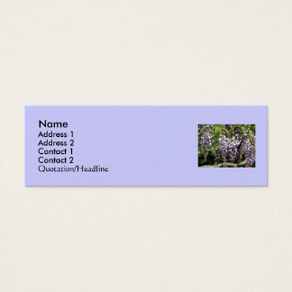 Stacey's Floral Design's Mini Business Card