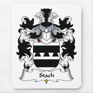 Stach Family Crest Mouse Pad