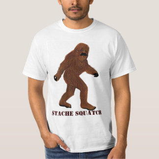 Stache Squatch Tees