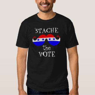 Stache the Vote Tees
