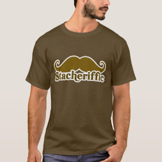 Stacherific Mushtache T-Shirt