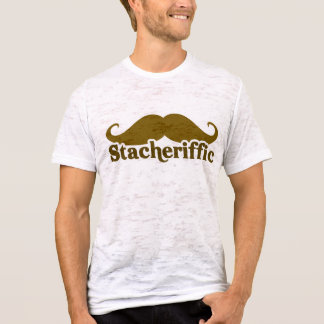 Stacherific Mushtache T-Shirt