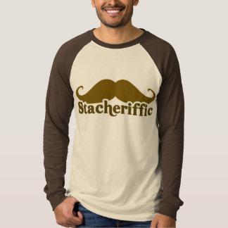 Stacherific Mushtache Tshirt