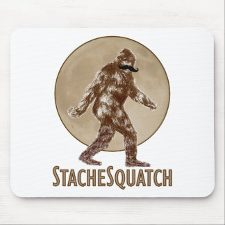 STACHESQUATCH I Moustache if you've Seen My Mouse Pad