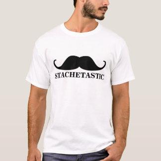 Stachetastic Stache Handlebar Mustache T-Shirt