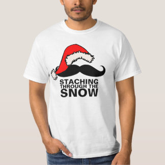 Staching Through The Snow Shirt