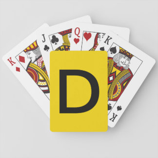 Stack D Playing Cards