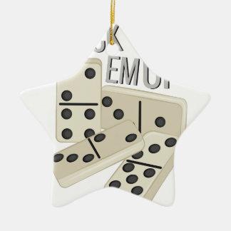 Stack Em Up Ceramic Ornament