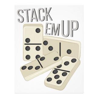 Stack Em Up Customized Letterhead