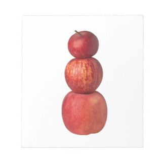 Stack of apples notepads