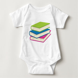 Stack of Books Baby Bodysuit