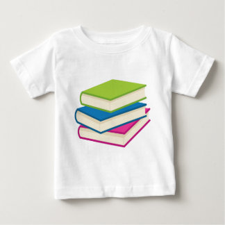 Stack of Books Baby T-Shirt