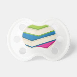 Stack of Books Pacifier