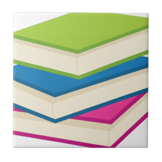 Stack of Books Tile