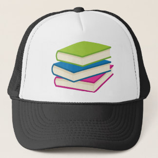 Stack of Books Trucker Hat