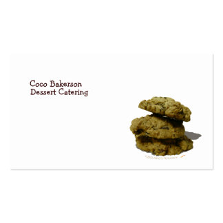 Stack of Cookies Business Card Template