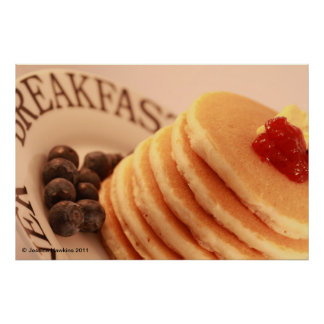 Stack of Pancakes Poster