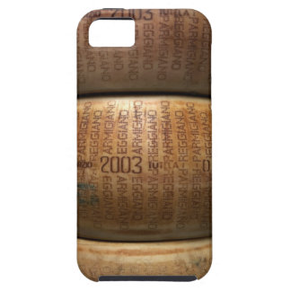 Stack of parmesan cheeses, close-up iPhone 5 cover