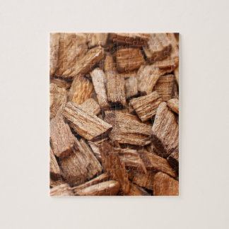 Stack of pieces of dry woods of different sizes jigsaw puzzle