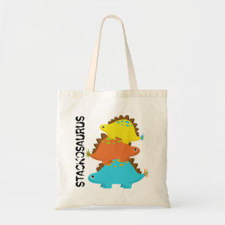 Stack of Stegosaurus Bag