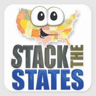Stack the States Stickers
