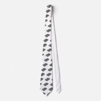 Stack with blank plastic cards with chip tie