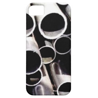 stacked circles of steel case for the iPhone 5