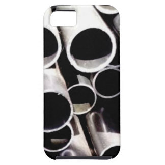 stacked circles of steel iPhone 5 case