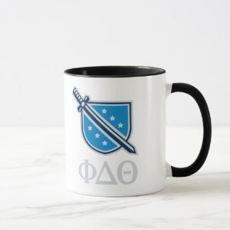 Stacked Logo and Letters - Grey Mug