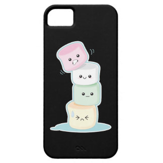 Stacked Marshmallows iPhone 5 Cases