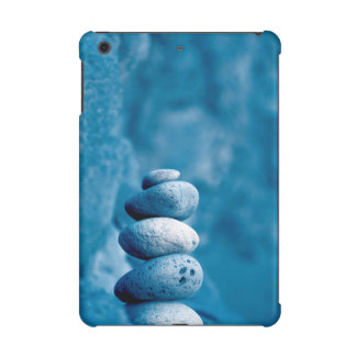 Stacked pebbles iPad mini case