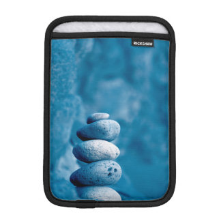 Stacked pebbles iPad mini sleeve