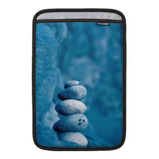 Stacked pebbles sleeve for MacBook air