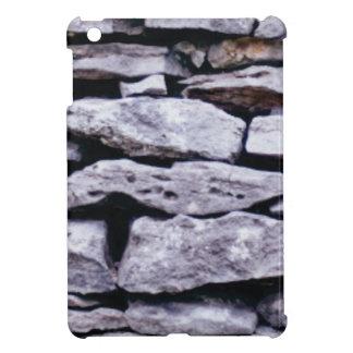 stacked rock wall iPad mini cover