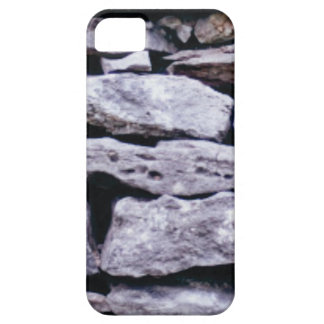 stacked rock wall iPhone 5 case
