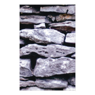 stacked rock wall stationery