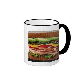 Stacked sandwich mugs