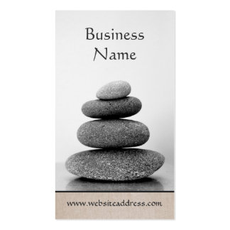 Stacked Stones Holistic Wellness and Healing Arts Pack Of Standard Business Cards