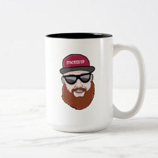 Stacked Up Face XL Mug