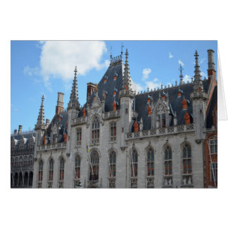 Stadhuis Bruges Belgium Fairytale Photograph Card